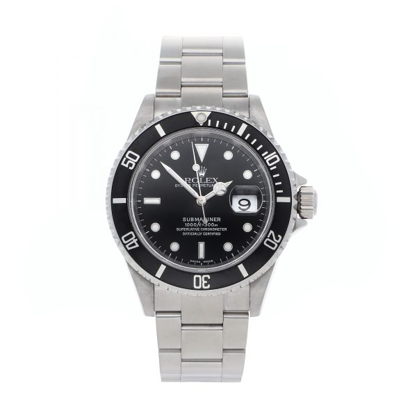 Dial Black Replica Rolex Submariner 16610 Case 40mm Stainless Steel