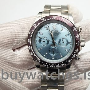 Rolex Daytona 116506 Ανοιχτό μπλε Mens Automatic 950 Platinum Watch