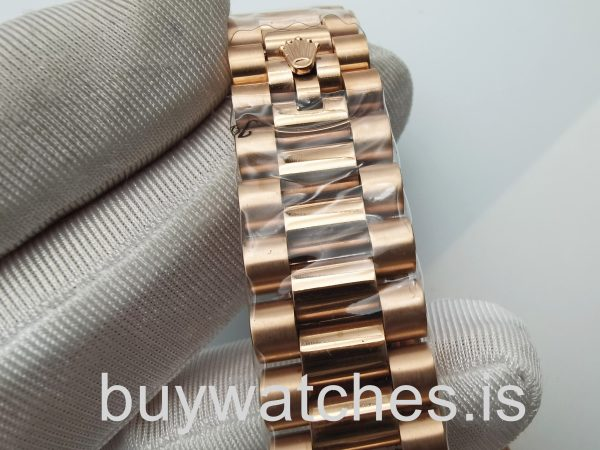 Rolex Datejust 4467 Αυτόματο ρολόι Unisex 36 Mm 18k Rose Gold