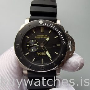 Panerai Luminor Submersible Pam00389 Αυτόματο ρολόι Mens Black 47mm